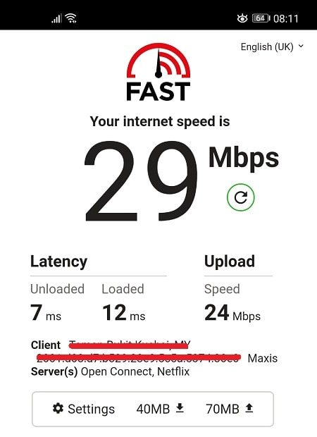 Speed Test Without Surfshark